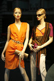 Summer fashion. Seen through a store window - Berlin , Germany Stock Photography