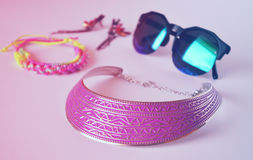 Summer fashion accessories Royalty Free Stock Photography