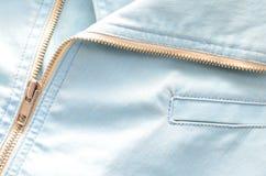 Summer fashion color denim jacket Royalty Free Stock Photos