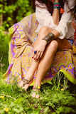 Summer fashion details Royalty Free Stock Image