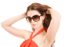 Summer fashion girl Royalty Free Stock Photos