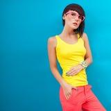 Summer fashion Girl Stock Photos