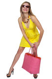 Summer Fashion Model Royalty Free Stock Photography