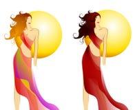 Summer Fashion Models Royalty Free Stock Photography