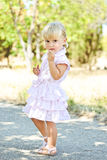 Summer fashion toddler Royalty Free Stock Photography