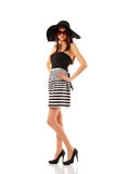 Summer fashion woman Stock Photography