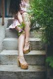 Summer fashion woman Stock Photo