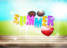 Summer feelings Stock Image