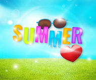 Summer feelings Royalty Free Stock Image
