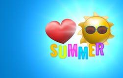 Summer feelings Stock Images