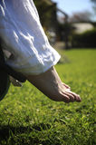 Summer Feet Stock Image