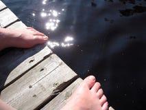 Summer feet stock photo