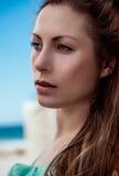 Summer female portrait Stock Photography