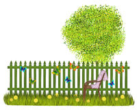 Summer fence Royalty Free Stock Images