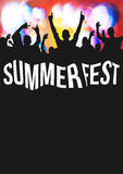 Summer Fest Royalty Free Stock Image