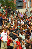 Summer Festival Crowd Stock Photos
