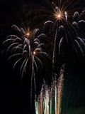 Summer Firework festival Stock Photography