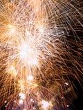 Summer Firework festival Stock Image