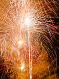 Summer Firework festival Stock Photo