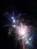Summer Firework festival Stock Images