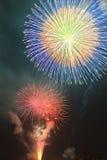 Summer Fireworks-5 Stock Photo