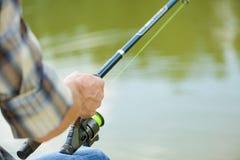 Summer fishing Stock Photo