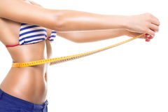 Summer Fit Body Royalty Free Stock Images