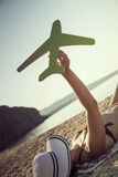 Summer flights Royalty Free Stock Images
