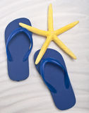 Summer Flip Flop Sandals Royalty Free Stock Image
