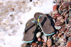 Summer flip-flops Royalty Free Stock Photography