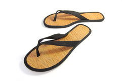 Summer flip flops. Flip flop sandals on a white background Royalty Free Stock Photos