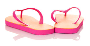 Summer Flip Flops Royalty Free Stock Images