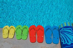 Summer Flipflops Royalty Free Stock Photos