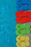 Summer Flipflops Stock Photography