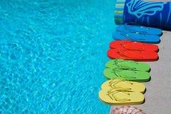 Summer Flipflops Stock Images