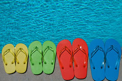 Summer Flipflops Stock Image
