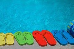 Summer Flipflops Royalty Free Stock Photos