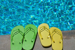 Summer Flipflops Royalty Free Stock Images
