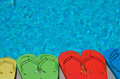 Summer Flipflops Royalty Free Stock Photo
