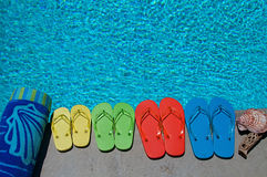 Summer Flipflops Royalty Free Stock Image