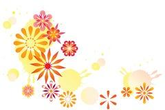 Summer floral background. Vector illustration vector illustration