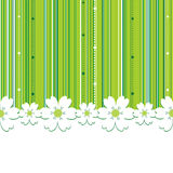 Summer Floral Background Stock Photo