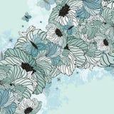 Summer Floral Background Stock Image