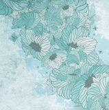 Summer Floral Background Stock Photos