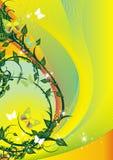 Summer Floral Illustration Stock Images