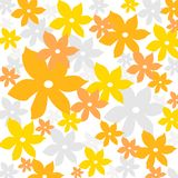 Summer floral pattern Stock Photo
