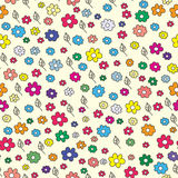 Summer floral seamless pattern Royalty Free Stock Images