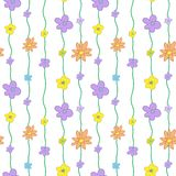 Summer Floral Seamless Pattern Royalty Free Stock Photography