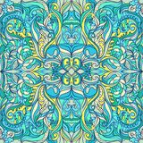 Summer Floral Vector Colorful Ornament Stock Photos