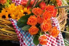 Summer flower arrangement Royalty Free Stock Image